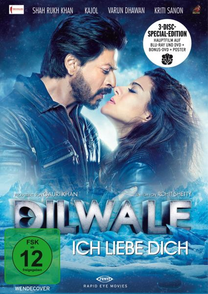 Dilwale - Ich liebe Dich (3 Disc Limitierte Special Edition DVD & Blu-ray)