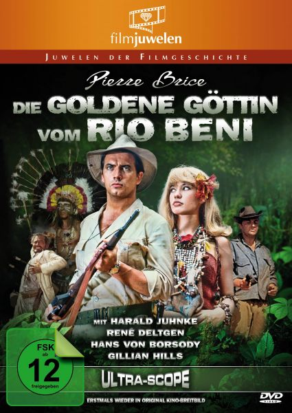 Pierre Brice: Die goldene Göttin vom Rio Beni