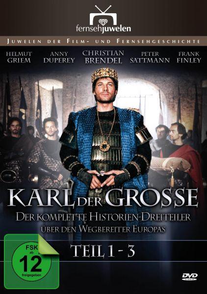 Karl der Große - Der komplette Historien-Dreiteiler