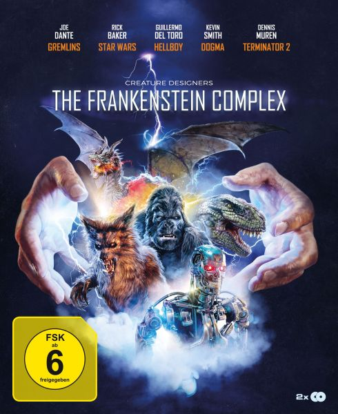 Creature Designers: The Frankenstein Complex (2-Disc Digipak)