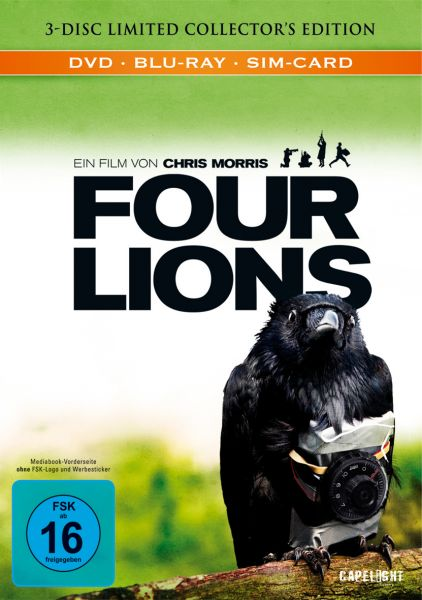 Four Lions (Limited Edition Mediabook)