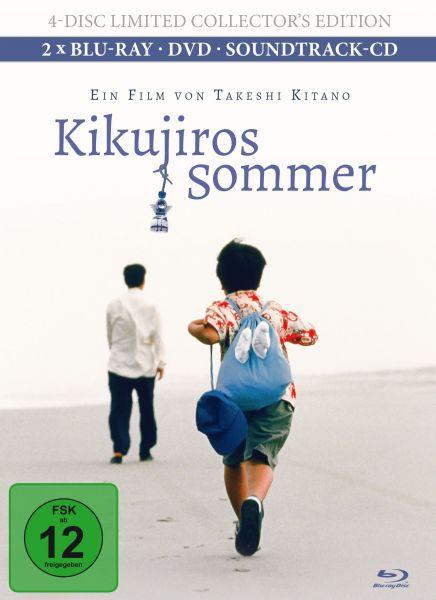 Kikujiros Sommer (4-Disc Limited Collector's Edition inkl. Soundtrack-CD Mediabook)